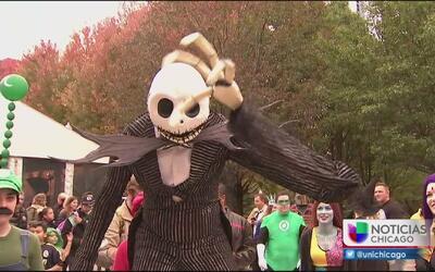 Empiezan los preparativos para el desfile y festival de Halloween en Chi...