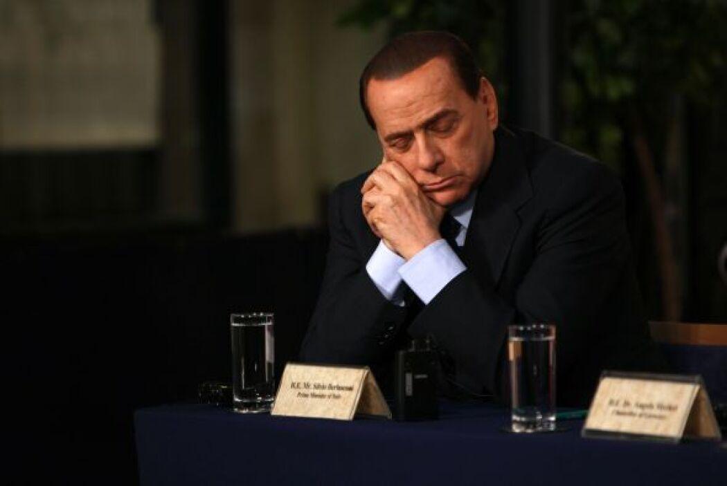 Y también durante una conferencia de prensa conjunta con otros líderes e...