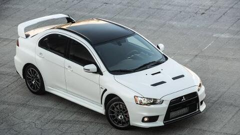 Imágenes del Mitsubishi Lancer Evolution X Final Edition