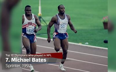 Diez atletas que fueron olímpicos y jugadores de la NFL