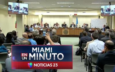 'Miami en un Minuto': Comisión de North Miami Beach decidió privatizar e...
