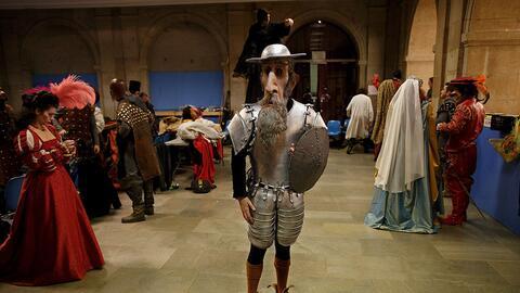 Don Quijote es uno de los personajes emblemáticos de la literatur...