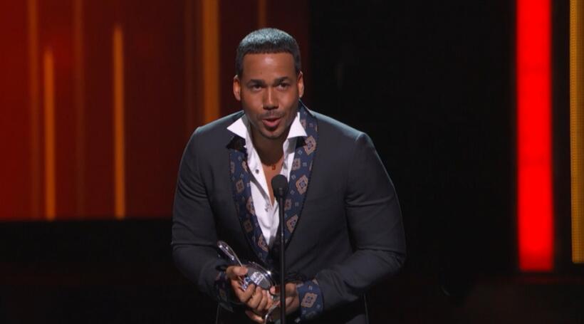 Romeo Santos el 'Rey de la bachata', fue reconocido con el Premi...
