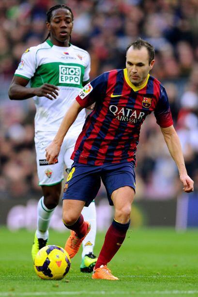 Barcelona se iba adueñando más y más del partido y no se descartaba un r...