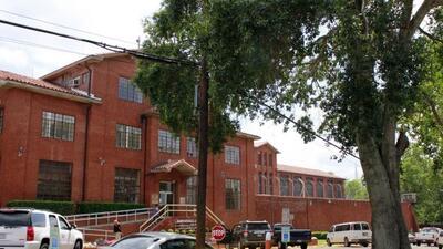 Penitenciaría Estatal de Texas en Huntsville, donde se encuentra la cáma...