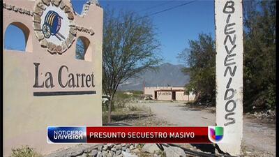 Presunto secuestro masivo de grupo musical en México