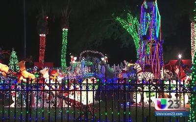 Decoración navideña causa problemas en Plantation