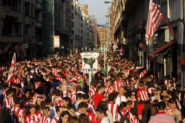 La otra cara de la moneda, los del Bilbao.