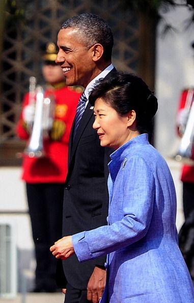 El presidente de EEUU se encuentra en una gira por Asia , donde tiene pr...
