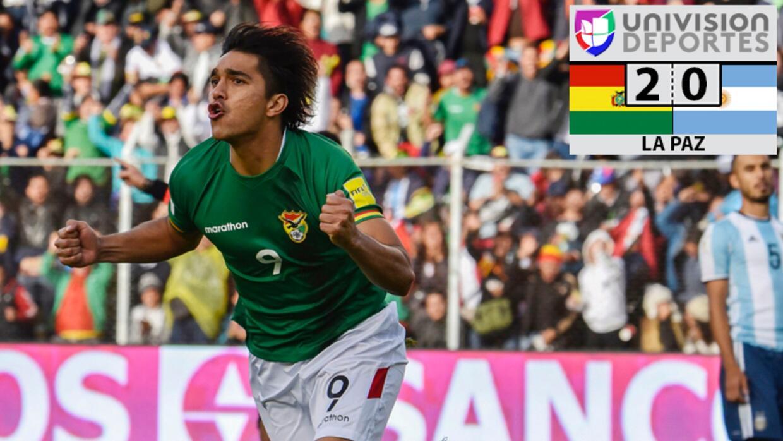Bolivia 2-0 Argentina FINAL