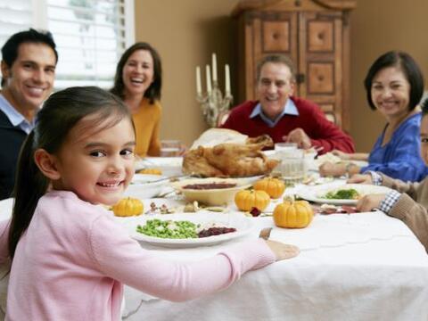 Saldo positivo. Celebrar Acción de Gracias y no quedar con tus cu...