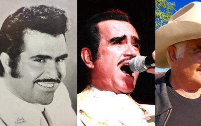 Vicente Fernández a través de los años