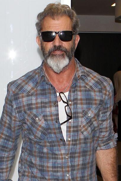 ¡Sí! Aunque usted no lo crea, este es Mel Gibson, padre de siete hijos c...