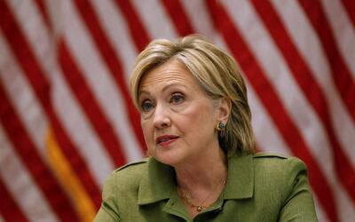 La candidata demócrata, Hillary Clinton, ha tenido mucho menos resonanci...
