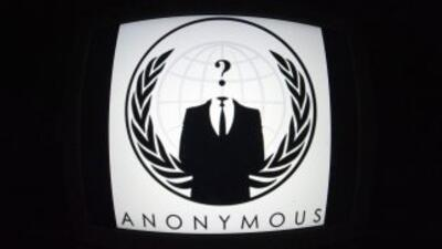 El colectivo de hackers Anonymous.