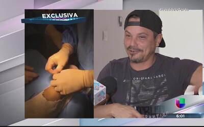 Raúl Armando tuvo que ser intervenido quirúrgicamente de urgencia
