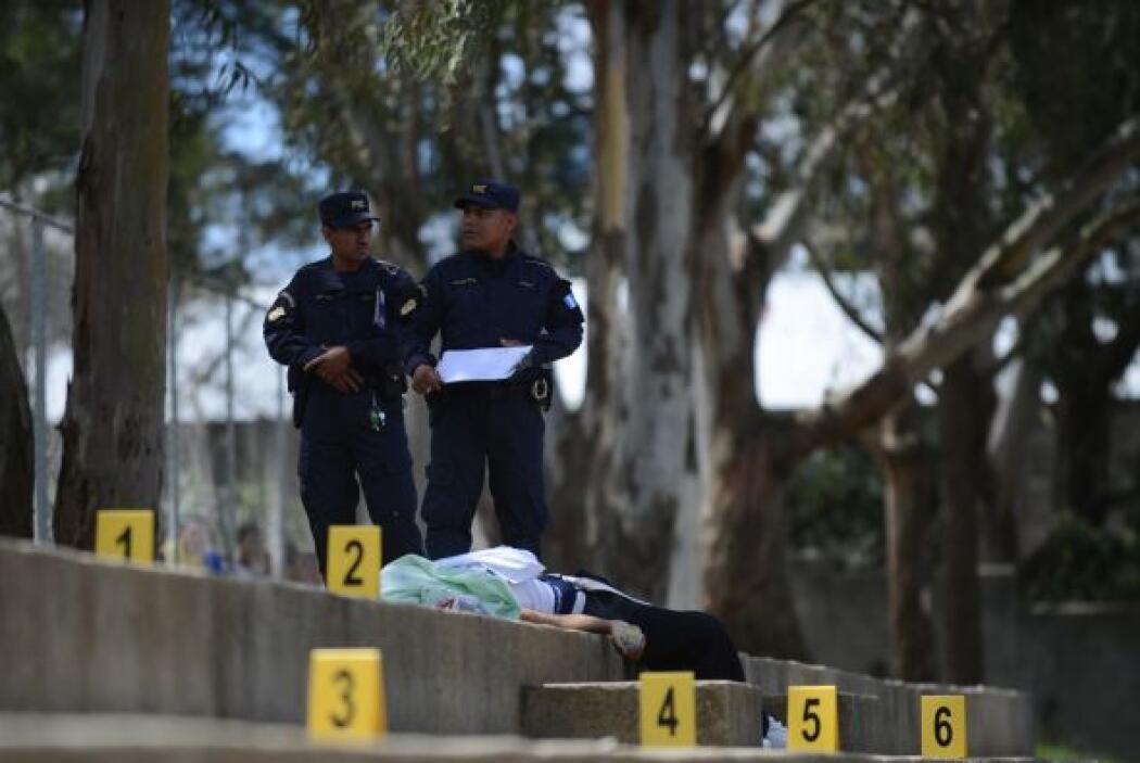 El 83.4 por ciento de los crímenes se cometieron con armas de fuego, inf...