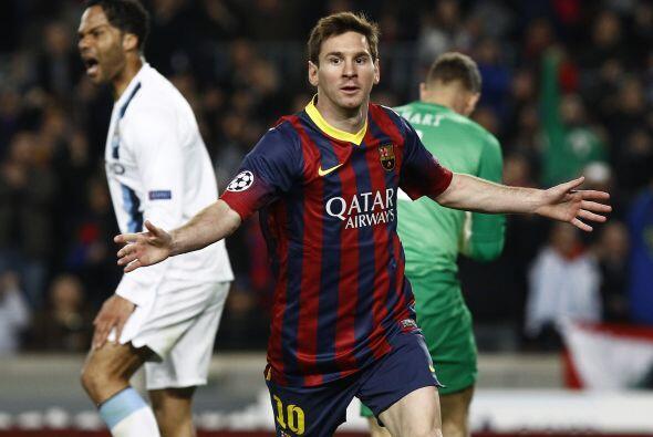 LO MEJOR - El regreso de 'La Pulga':   Messi volvió a dar muestra...