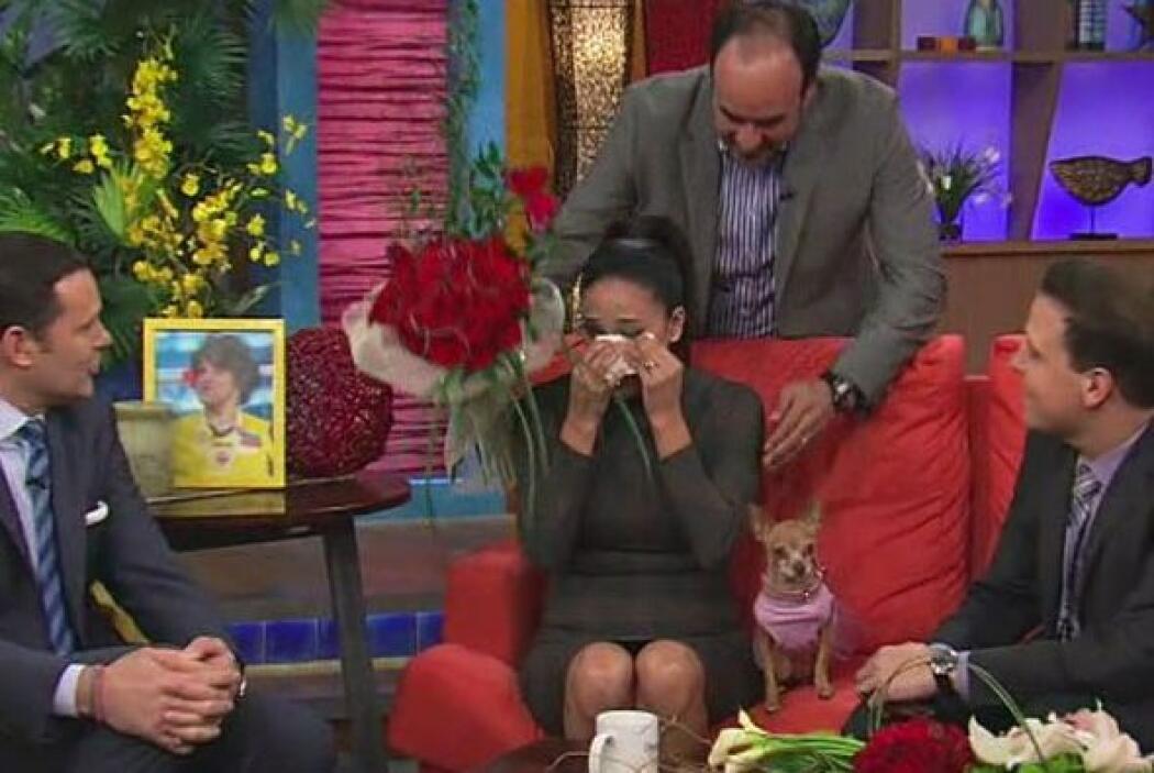 """""""Lo amo mucho"""", se escuchaba decir a Karla sin saber que su esposo estab..."""