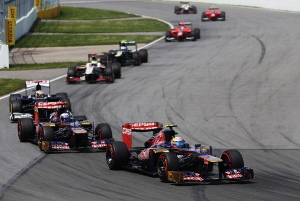 El británico Lewis Hamilton (McLaren) ganó el Gran Premio de Canadá que...