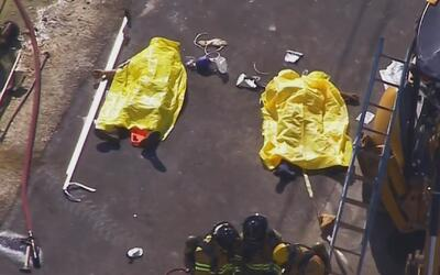 Tres trabajadores de construcción perdieron la vida en terrible accident...