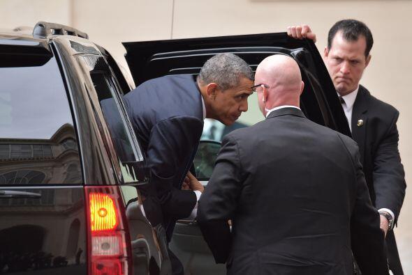 """El presidente de Estados Unidos destacó como """"cuando el papa habla, sus..."""