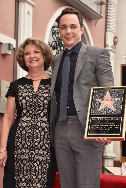 Jim con su mamá