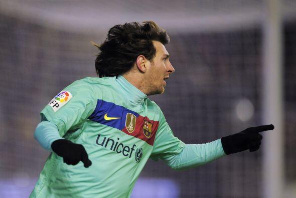 'La Pulga' está imparable y el Barcelona es más puntero qu...