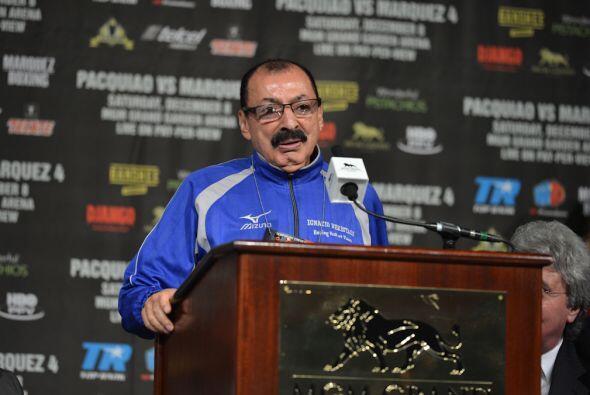 Nacho Beristáin trabajó en diferentes puntos con Márquez para poder venc...