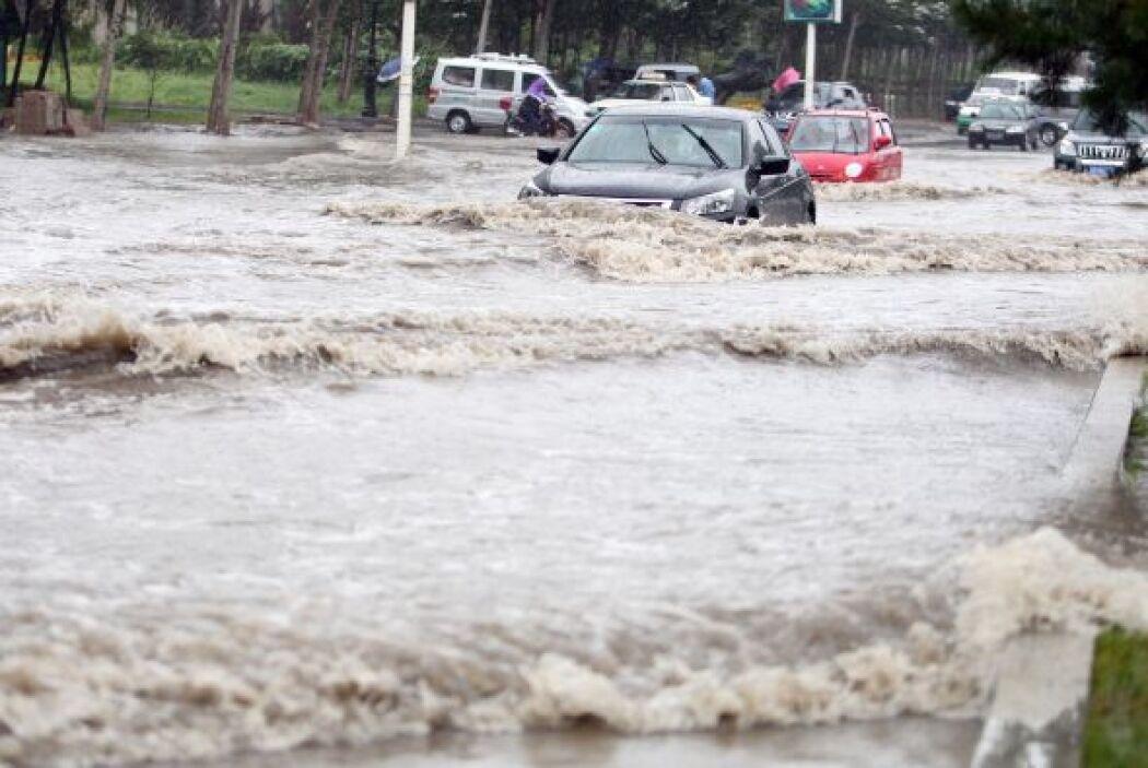 Un total de 1.53 millones de residentes han sido afectados por la tormen...
