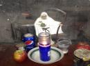Pequeño altar hallado en una plantación de marihuana en Riverside