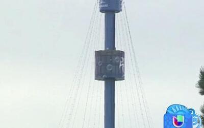 Decenas de personas se quedaron varadas a más de 200 pies de altura