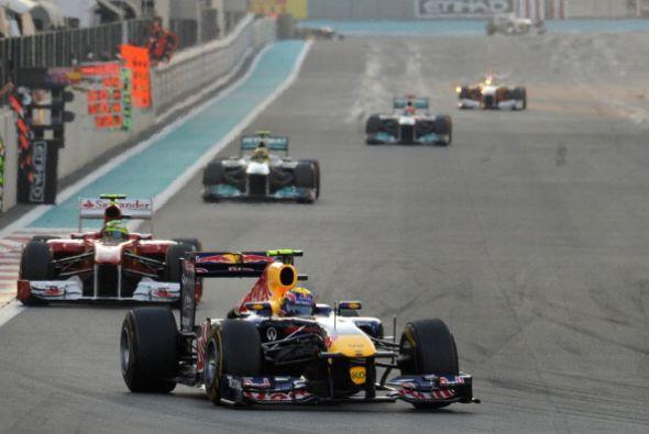 Lewis Hamilton ganó el Gran Premio de Abu Dabi de Fórmula 1, penúltima c...