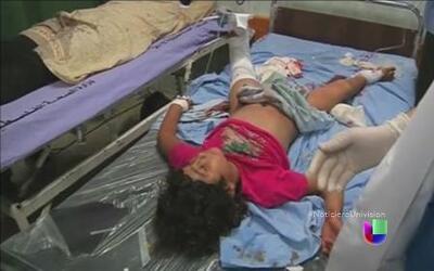 Aumenta la cantidad de niños muertos por el conflicto en el Medio Oriente