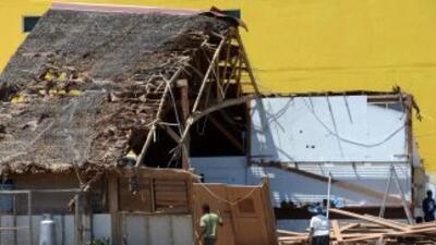 El paso del ciclón Pam dejó una estela de destrucción y muerte en Vanuatu.