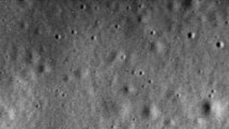 Una de las últimas imágenes enviadas por la nave Messenger.