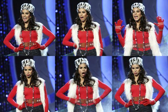 Vanessa de Roide cuarta gala