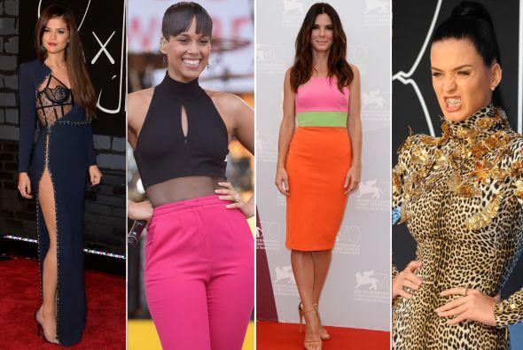 Las famosas siguen dando de qué hablar con sus 'looks' de la semana. Des...