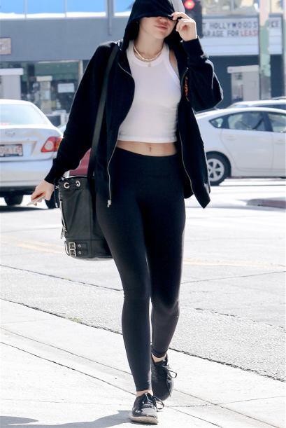 Miley Cyrus sabía que había hecho mal al salir a la calle de esta manera...