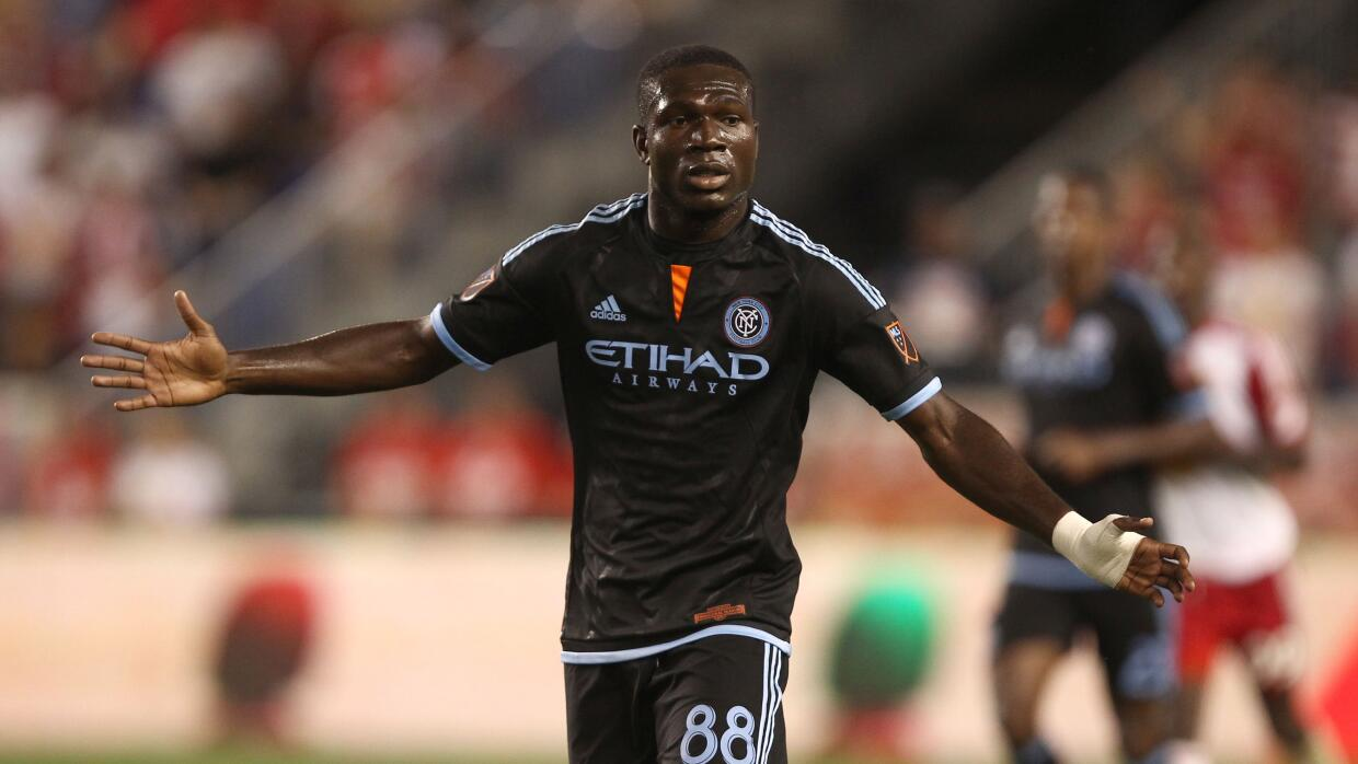 Kwadwo Poku, delantero de New York City FC