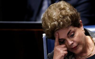 Brazil's president Dilma Rousseff impeached. Aug 31, 2016.