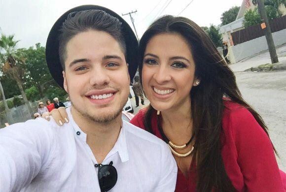 """""""En la parada de los #ReyesMagos @MaityInteriano"""", mostró William. (Ener..."""