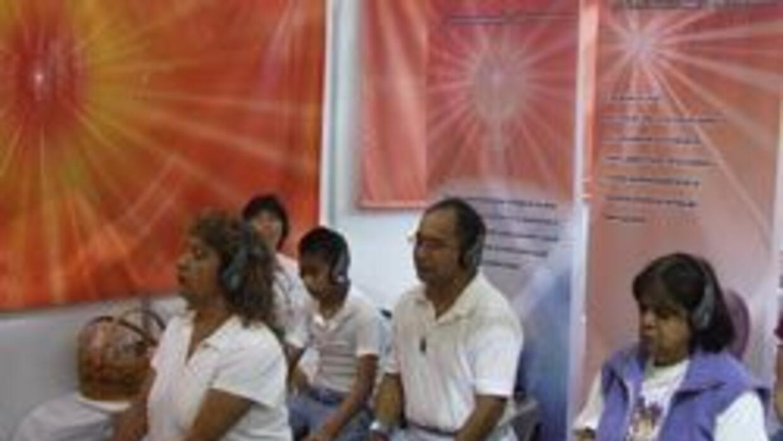 Conferencias y talleres que exploraron temas como meditación fueron part...
