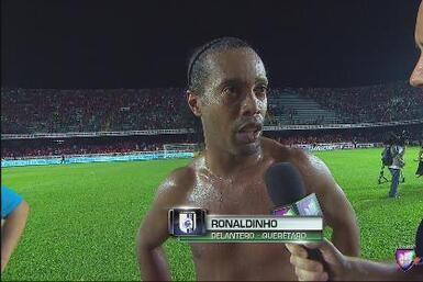 "Ronaldinho: ""Todavía no conquistamos nada"""