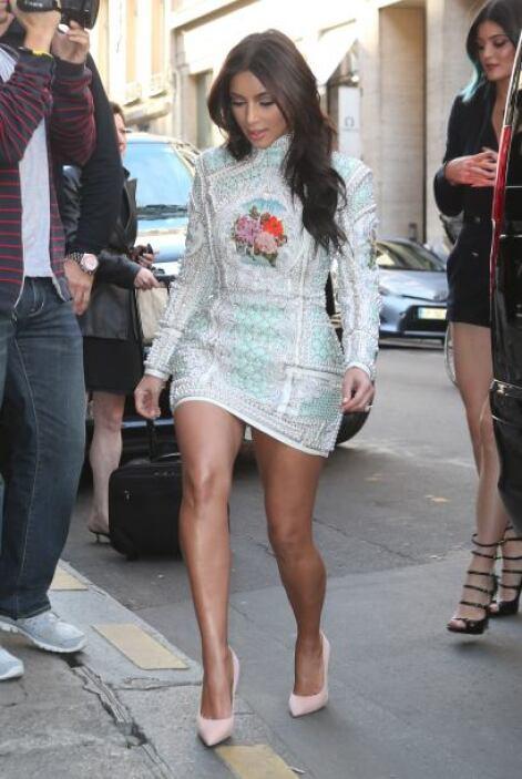 Además de su mamá y hermanas, Kim invitó a otras buenas amigas como Brit...