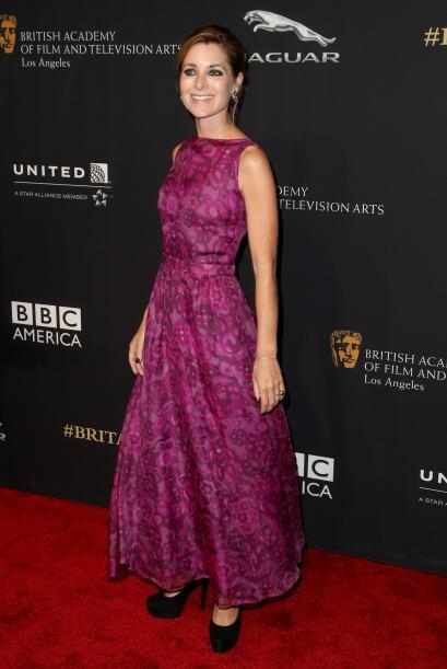 El vestido de Rosie Fellner hubiera sido divino, de no ser porque le que...