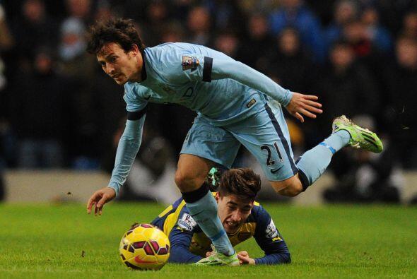 David Silva fue de los hombres más destacados del Manchester City con su...