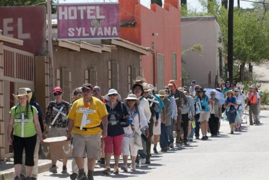 Relató la travesía de una indocumentada de Nogales, Sonora (México), que...
