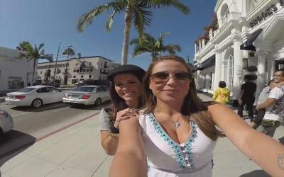 Lindsay y Adriana se fueron de compras a Rodeo Drive y a los callejones...