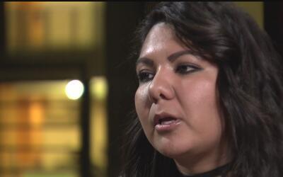 """""""Estados Unidos es mi casa"""", dice en La Mesa inmigrante mexicana que no..."""